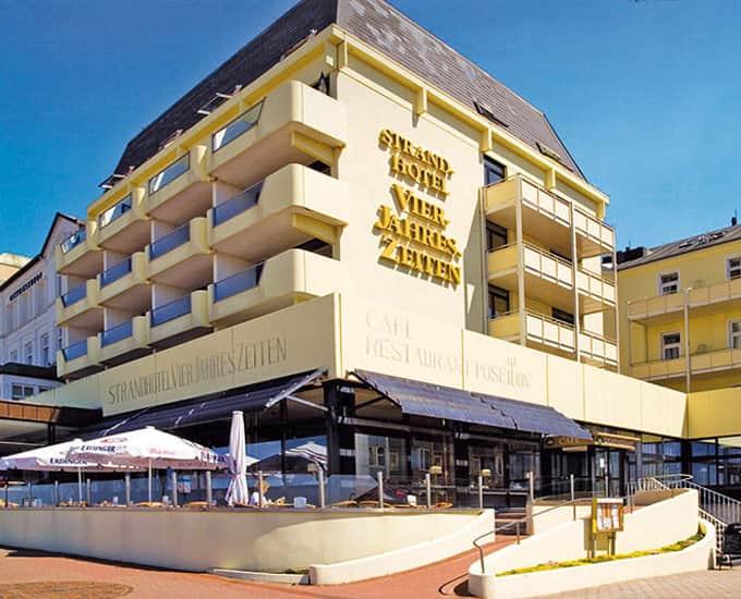 Webcam Strandhotel Vierjahreszeiten