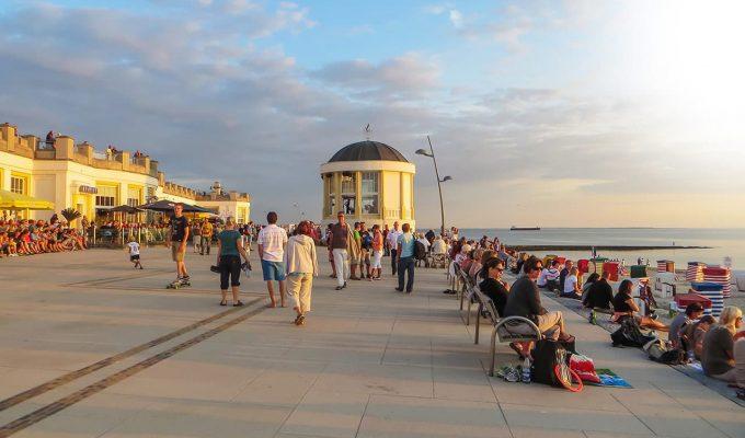 Borkumer Strandpromenade