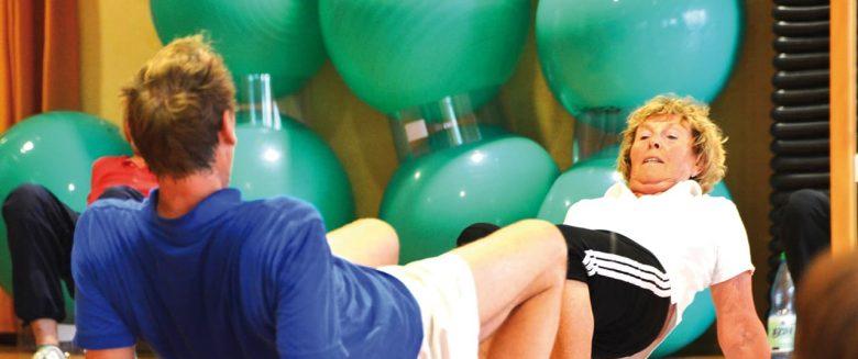 Fitness im Gezeitenland Borkum