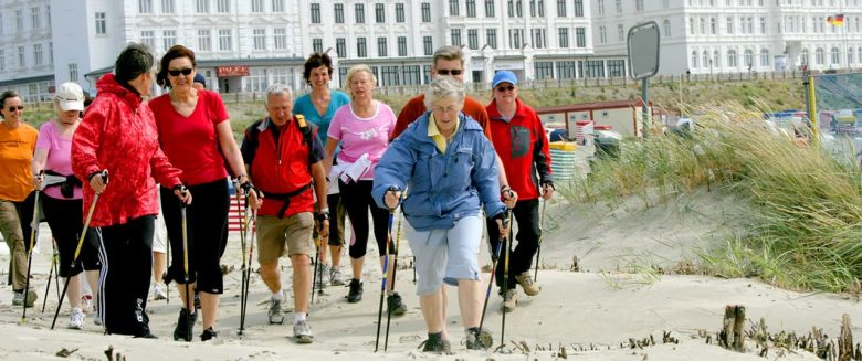 Walking Borkum