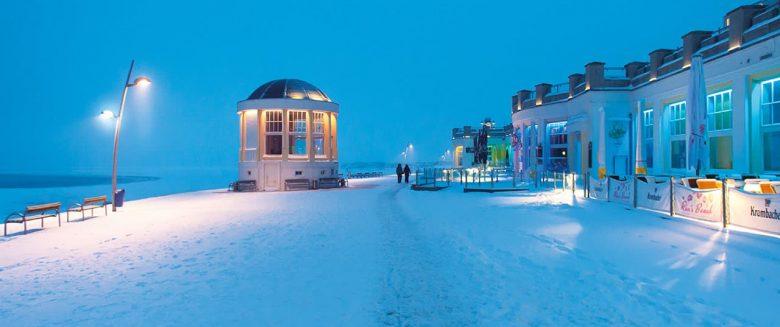 Winter auf Borkum