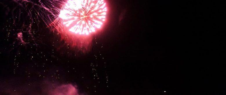 Feuerwerk Borkum
