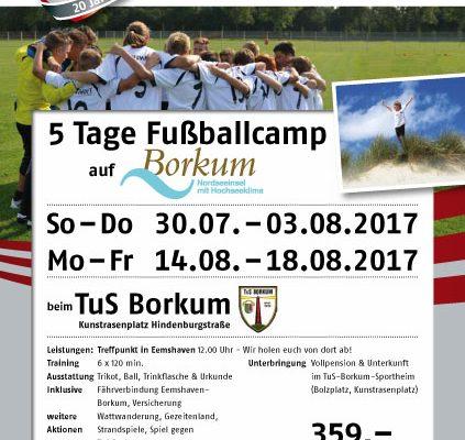 Fußballcamp TuS